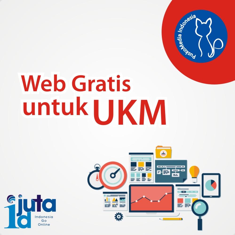Pendaftaran Website Gratis Usaha Kecil Menengah (UKM)