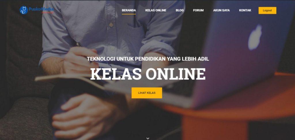 Demo kelas online dari PuskoMedia Indonesia