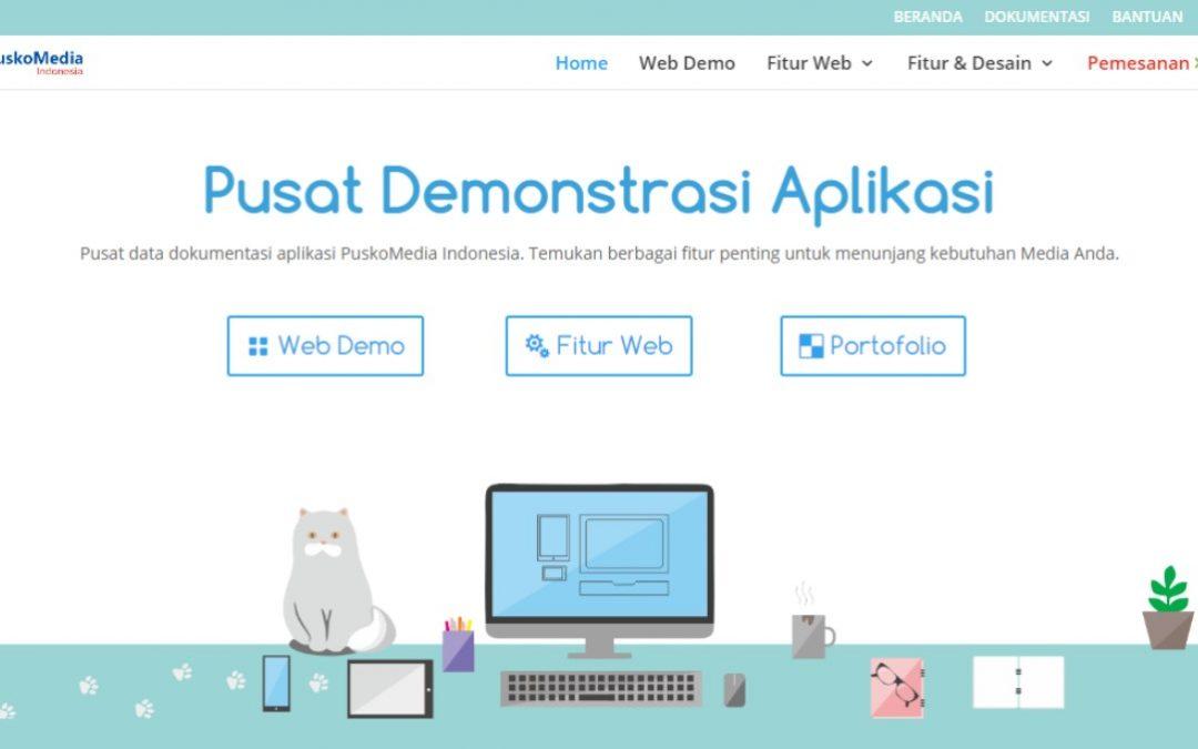 Web Pusat Demonstrasi Aplikasi, Sebagai Pusat Pengetahuan Milik PuskoMedia Indonesia