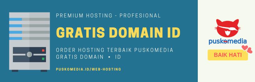 Hosting Murah, Gratis Domain ID
